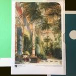 Palmenhaus Staatliche Museen zu Berlin, Nationalgalerie BU: Carl Blechen Das Innere des Palmenhauses Öl auf Papier und Leinwand Foto: Jörg P. Anders